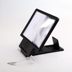 AUkEy Baru Mobile Phone Screen Magnifier Berdiri Amplifier Folding Pemegang dengan Speaker-Intl