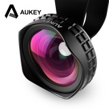 Aukey Optic Pro Lens 18Mm Hd Wide Angle Lensa Kamera Ponsel Kit 2X Lebih Seni Internasional Terbaru