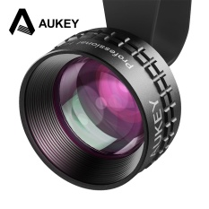 AUKEY Optic Pro Lens 2X HD Telephoto Cell Phone Camera Lens kit 2X AS Close No Distortion & Dark Circle for iPhone7/7Plus Note 7 - intl