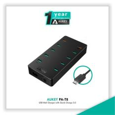 Aukey Pa-T8 Usb Wall Charger With Quick Charge 3.0 - Hitam 60W - A76ee5
