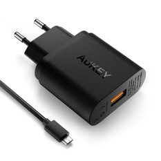 Aukey Pa U28 Quick Charge 2 Wall Charger Original