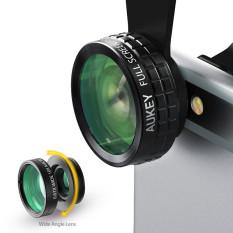 Diskon Aukey Pl A1 3 In 1 Mini Klip Pada Ponsel Kamera Optik Lensa Kit 180 Derajat Lensa Fisheye 110 Derajat Sudut Lebar 10 X Lensa Makro Untuk Ponsel Hitam Akhir Tahun