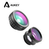 Jual Aukey Pl A1 3 In1 Wide Angle Macro Fisheye Phone Lens Branded