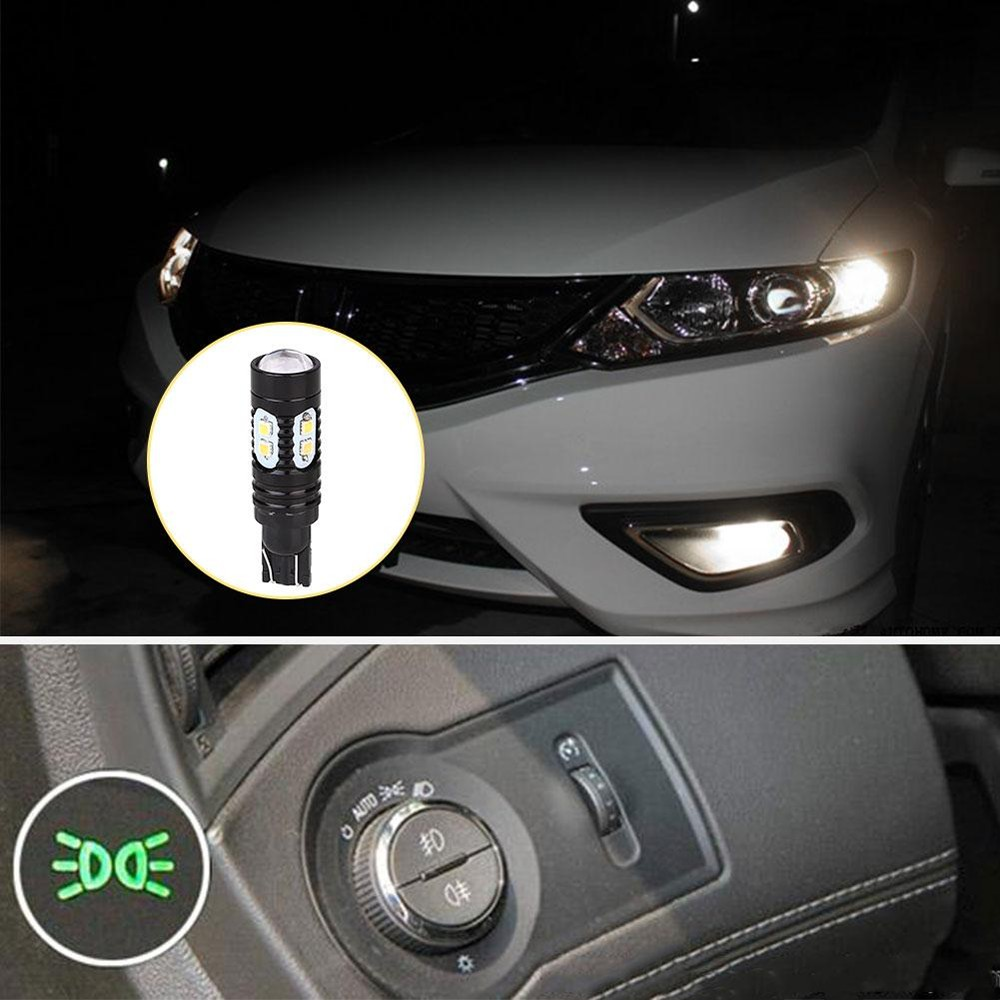 Buy Sell Cheapest Aukey Store T10 Best Quality Product Deals Lampu Led Cob Silica Silokon Super Terang 50 W Mobil Lebar Parkir Light Bright 3000lm Clearance Bohlam