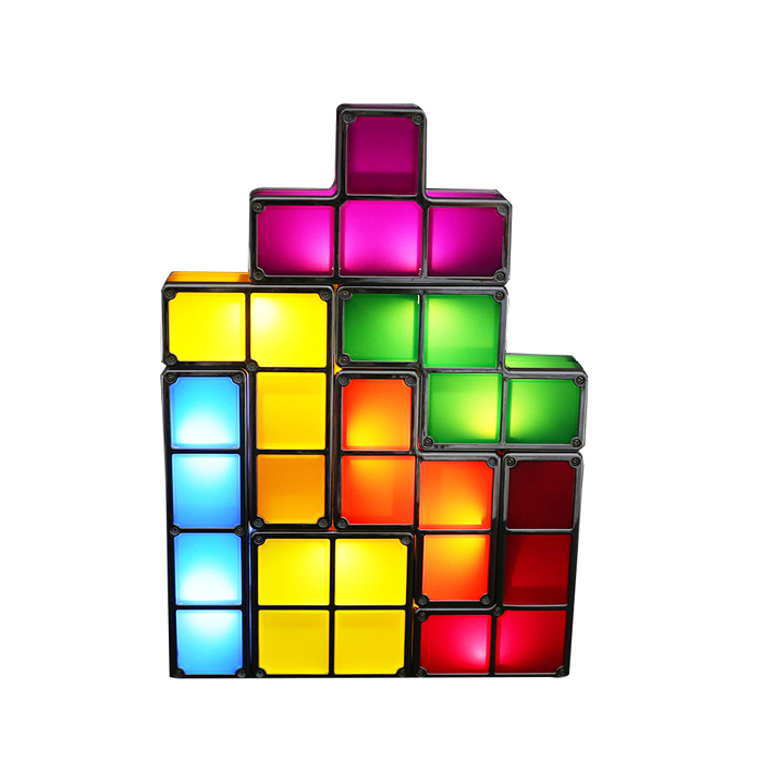 Harga Aukey Tetris Stackable Led Meja Lampu Tetris Lamp Branded