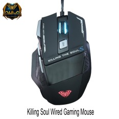 Mouse Gaming AULA Killing The Soul II 928s RGB Macro