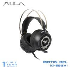 Promo Aula Motin Bell Vibrate Gaming Headset Power Usb Led Light Hitam Dki Jakarta