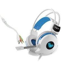 Obral Aula Succubur Mikrofon Headset Headphone Untuk Game Permainan Laptop Permainan Komputer Putih Murah
