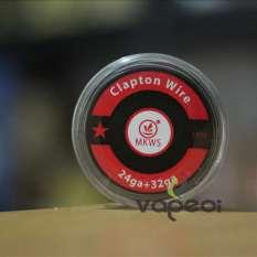 Promo Authentic Mkws Clapton Wire 24 32G 15Feet Khantal A1 Untuk Vape Vapor Dki Jakarta