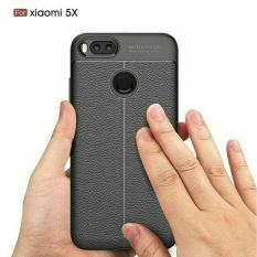 Auto Focus Case Model Kulit + Jahitan - Xiaomi Redmi 4A