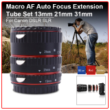Model Fokus Makro Otomatis Tabung Ekstensi Set Cincin For Canon Eos 70D 100D 600D 1100D Terbaru