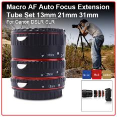 Ulasan Lengkap Tentang Fokus Makro Otomatis Tabung Ekstensi Set Cincin For Canon Eos 70D 100D 600D 1100D