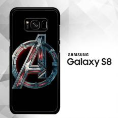 Review Toko Avengers Logo Y1201 Samsung Galaxy S8 Case
