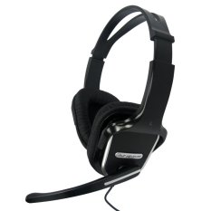 Avf Headset Hm500 Full Cover Digital Stereo Hitam Terbaru