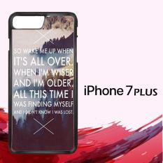 AVICII LYRICS Wake Me Up GN0340 Custom Casing Iphone 7 Plus Case Cover