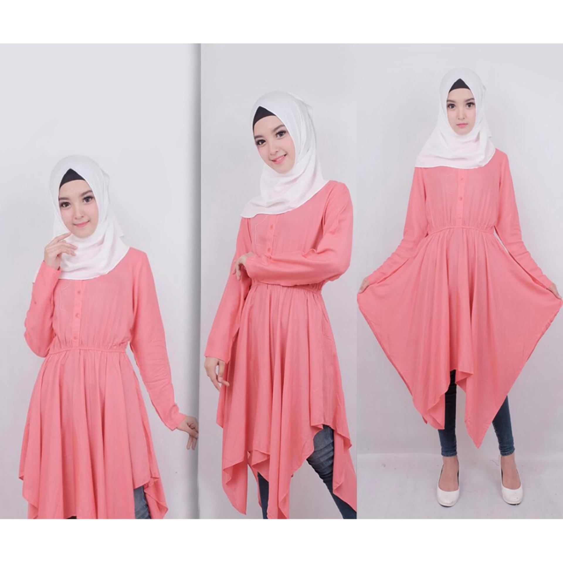 Jual Ayu Fashion Dress Sauqina Pashmina Salem 1 Best Seller Online Indonesia