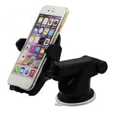 Azadi Toko, Inc. Panjang Leher Satu Sentuh 360 Derajat Memutar, Universal Mobil Dudukan, Mudah Dicuci, Kuat Sticky Gel Alas, untuk iPhone X/8/8 Plus/7/7 Plus/6/6 S/6 S Plus/SE/SAMSUNG Galaksi S8 Sisi/S7/S6/Catatan/6 /5/4 dan Lebih...-Internasional