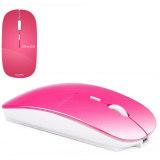 Spesifikasi Azzor Rechargeable Ultra Slim Wireless Mouse Pink Intl Beserta Harganya