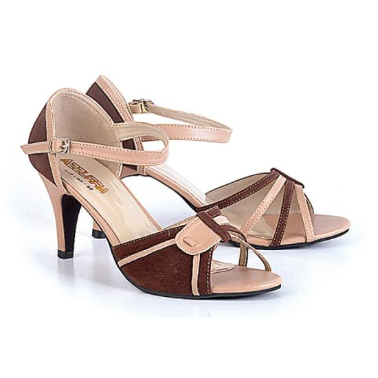 Ulasan Azzura 537 03 Sepatu High Heels Wanita Synth 7Cm Cantik Dan Elegan Brown