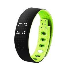 B17 Bluetooth 4.0 LED Smart Gelang Olahraga Aktivitas Gelang Watch Cell Phone MATE dengan Pedometer Pengawas Tidur Kalori Detectio-Intl