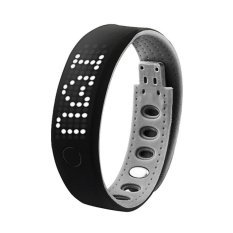 B17 Bluetooth 4.0 LED Smart Bracelet Sports Activity WristbandWatchCell Phone Mate with Pedometer Sleep Monitor CaloriesDetectio - intl