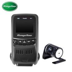 B40s PLUS Dual Lensa Mini Car DVR Kamera Novatek 96655 Dash CamFullHD 1080 P 170 Degree Car Video Recorder Dashcam -Intl