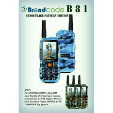 Spesifikasi Brandcode B81 Army Armi Loreng Hp Doreng Powerbank 10 000 Mah Terbaru