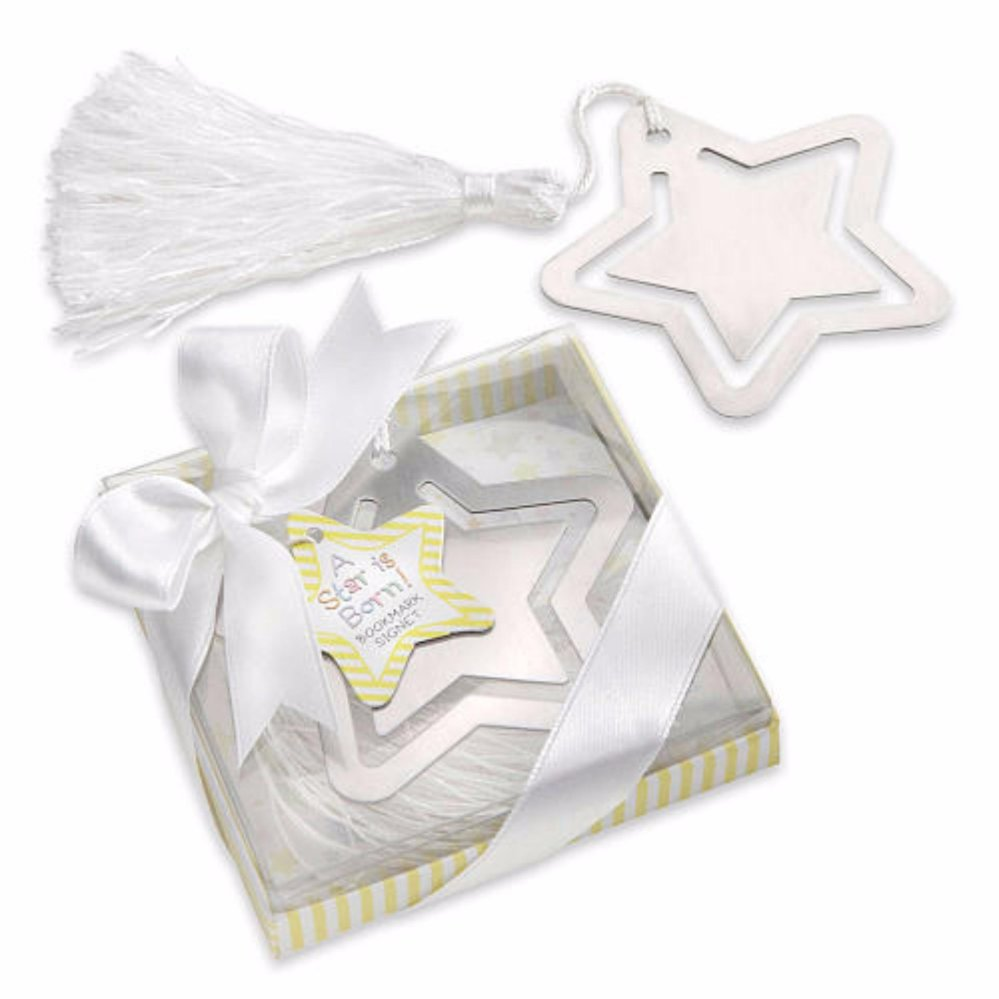 Baby Owl Metal Bookmark with White-Silk Tassel