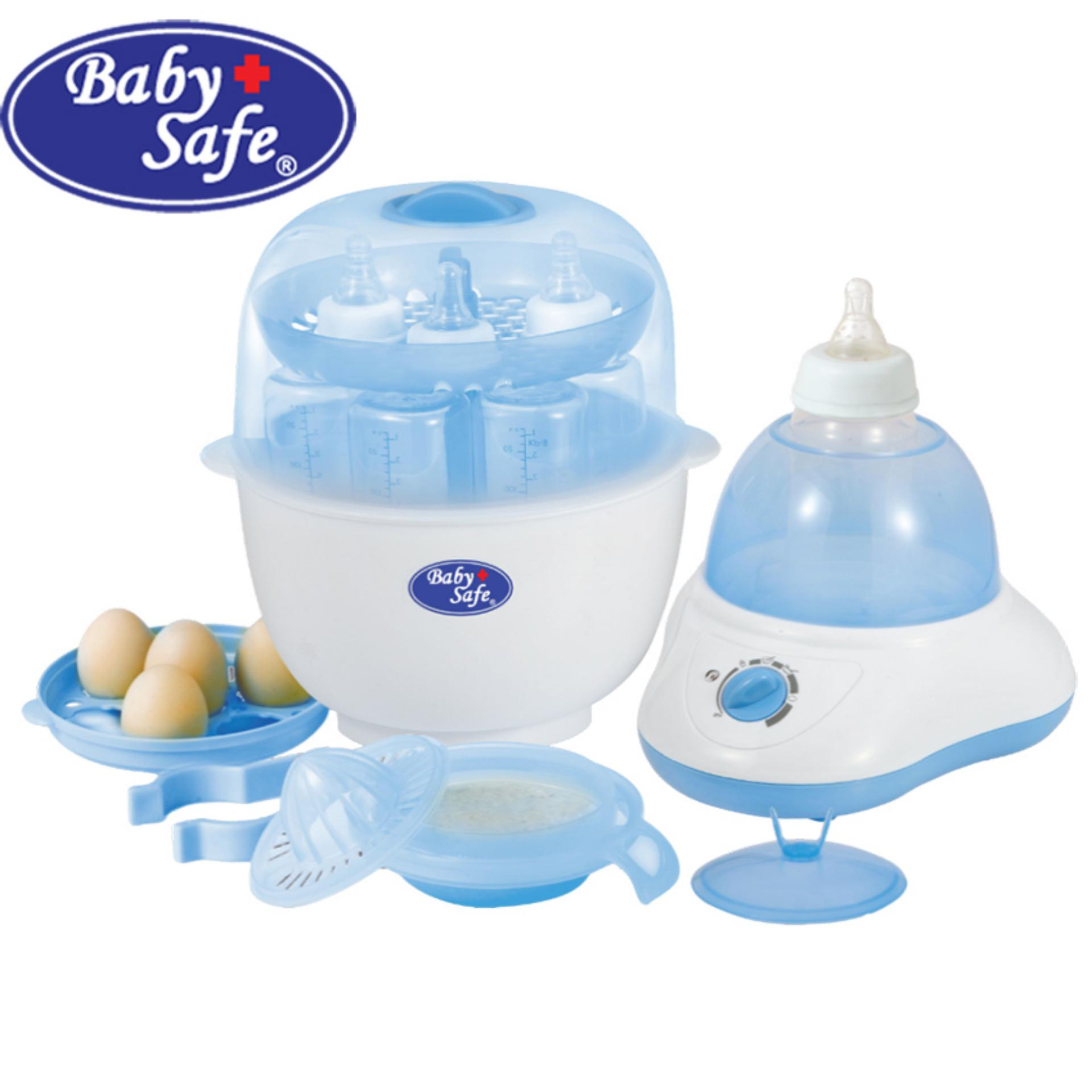 Kualitas Baby Safe Lb 309 Multifunction Bottle Sterilizer Baby Safe