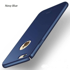 Penawaran Istimewa Baby Skin Case Iphone 5 5S 5Se Hardcase Casing Plastik Keras Full Body Navy Blue Terbaru