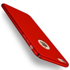 Baby Skin Case Iphone 6 Plus atau 6s+ Hardcase Casing Plastik Keras Full Body - Red