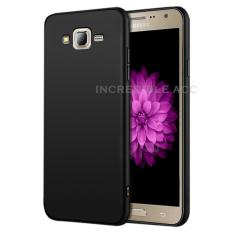 Anti Fingerprint Ultraslim Hybrid Case Baby Soft Babby Skin Softase Silicon Matte  for Samsung Galaxy J2 Prime - Black