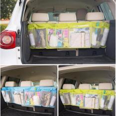 Baby Talk Auto Big Car Organizer Untuk Mobil - Tas Serbaguna Tas Penyimpanan Barang Rak Gantungan Jok Mobil Car Organizer Back Kantong Tempat Penyimpanan Belakang Mobil Besar Jaring Bag Box - Warna Random
