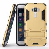 Jual Back Case Asus Zenfone 3 Ze520Kl 5 2Inc Iron Man Slim Armor With Kick Stand Gold Original