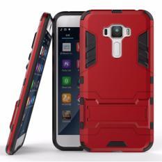 Back Case Asus Zenfone 3 ZE520KL (5.2inc) Iron Man Slim Armor With Kick Stand - Merah