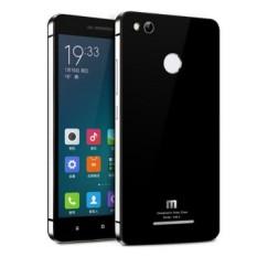 Back Case Xiaomi Redmi 3 Pro / Redmi 3sTempered Glass Series List Silver - Hitam
