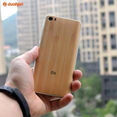 Jual Back Door Bamboo Pattern Casing Untuk Xiaomi Mi 5 Grosir