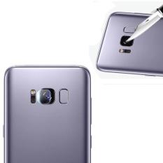 Kembali transparan kamera lensa pelindung Pelindung Guard menutupi untuk Samsung Galaxy S8 Plus 6.2 inch kamera film Clear