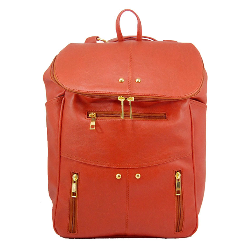 Jual Baglis Elena Backpack Orange Tua Branded Original