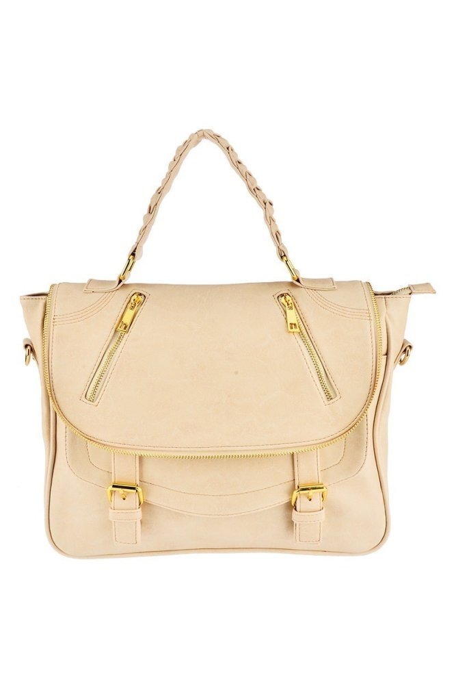 Toko Bagtitude Michelia Top Handle Bag Almond Bagtitude Online