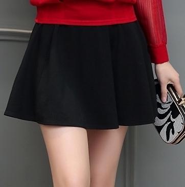 Perbandingan Harga Bagus Wanita Ukuran Besar Musim Gugur Baru Baju Dalaman Kemeja Sifon Hitam Rok Mini Di Tiongkok