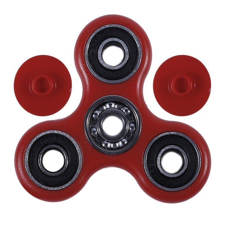 BAIK 8 Jenis Warna Toy Hand Spinner Fingertip Toys Long Waktu Rotasi Toys-Intl