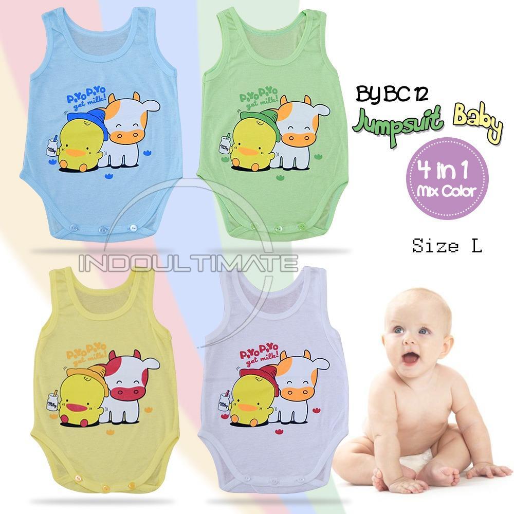 Baju Bayi Isi 4 Pcs Pakaian Bayi 4 In 1 Jumsuit Bayi By Bc 12 Isi 4 Pcs Di Jawa Timur