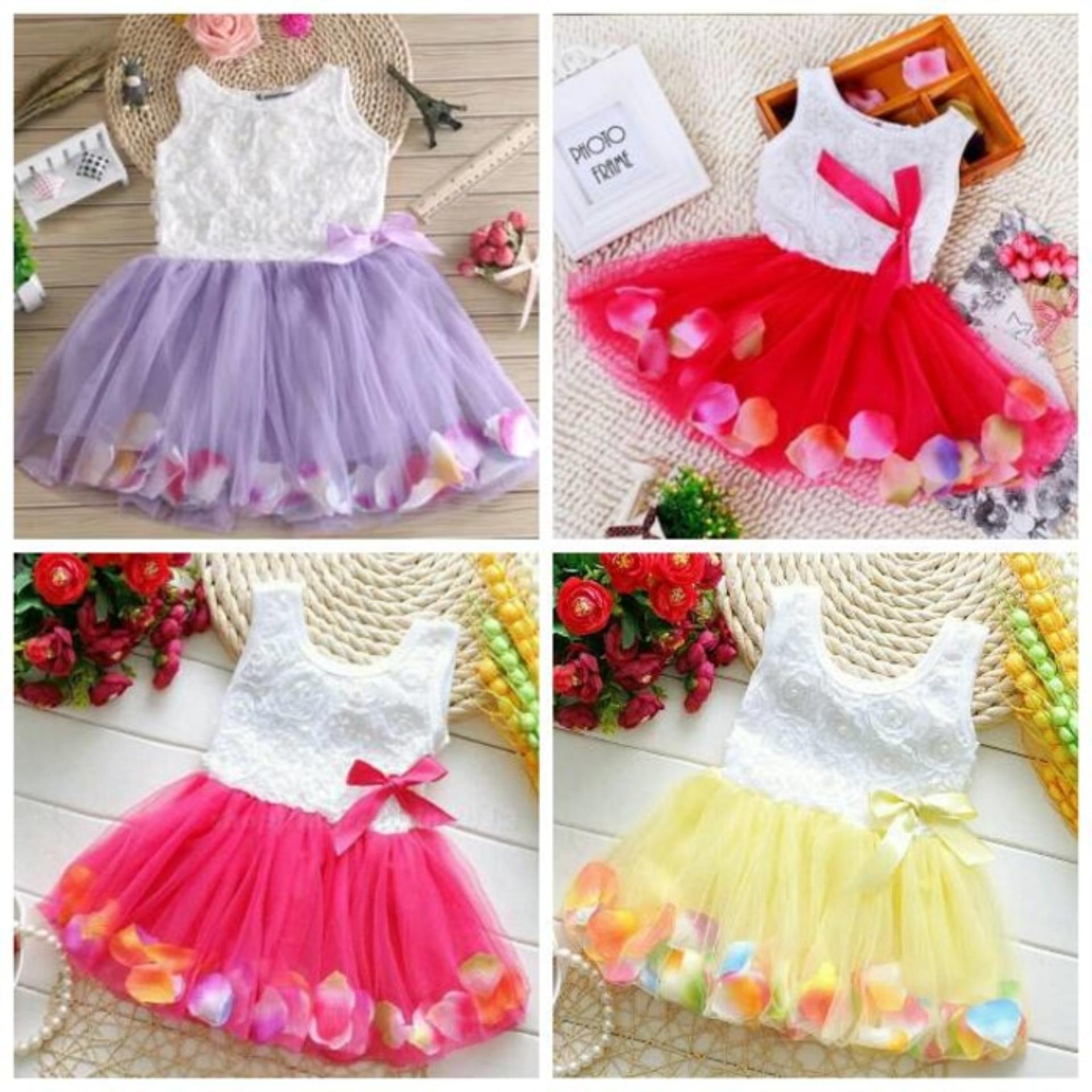 Harga Hemat Baju Gaun Pesta Bayi Anak Perempuan Gaun Anak Perempuan Gaun Pesta