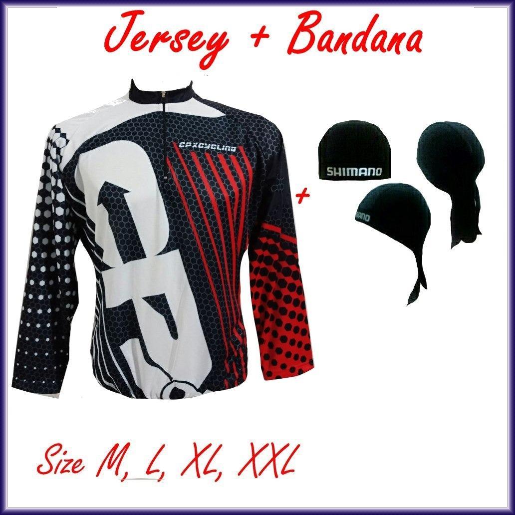 Harga Termurah Baju Kaos Jersey Sepeda Roadbike Cross Country Cpx New Line 002