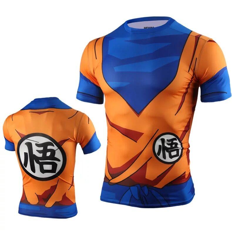 Jual Baju Ketat Elastis Baju Balap Sepeda Laki Laki Cepat Kering Bernapas Dragon Ball Sun Wukong Oem Original