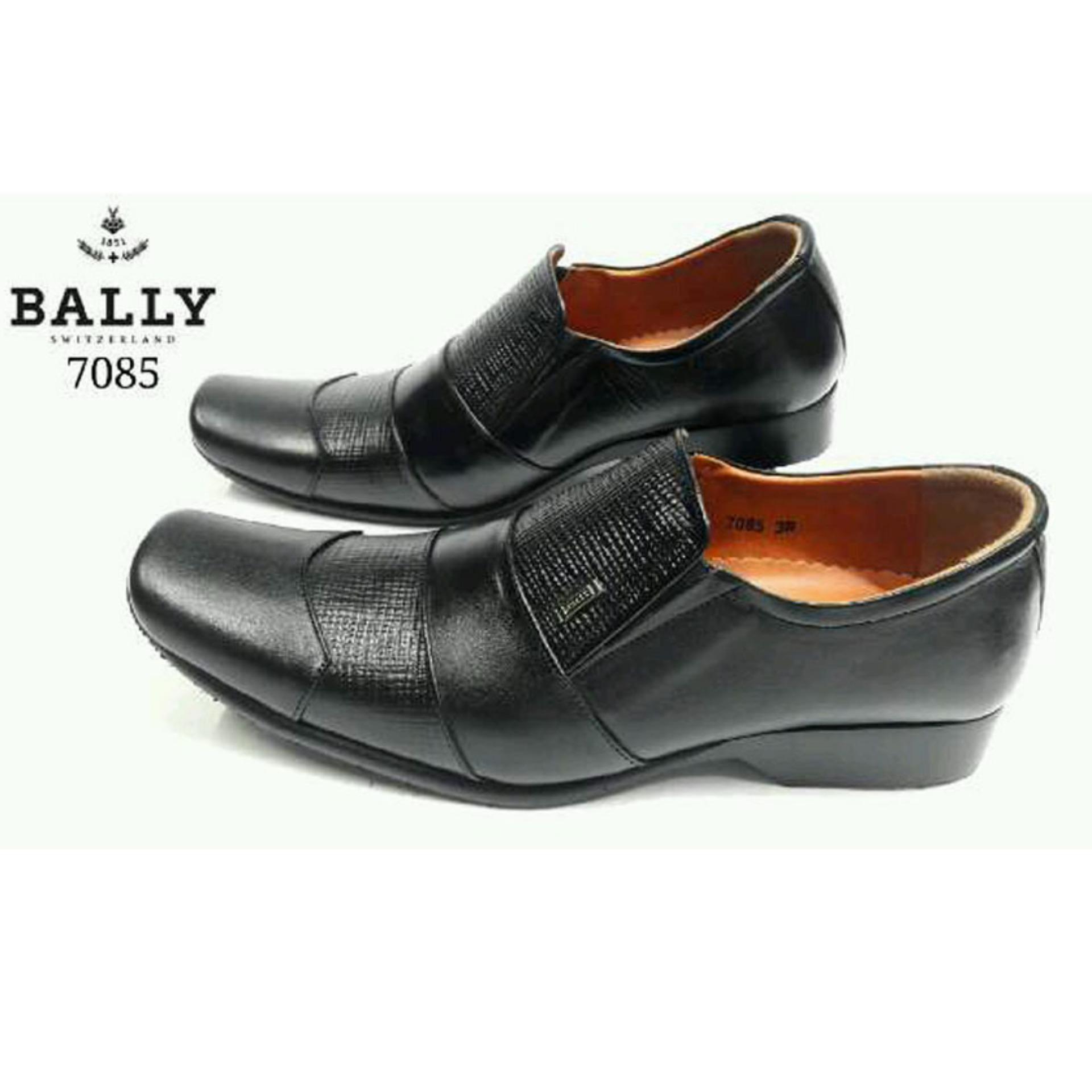 BALLY Switzerland Sepatu Formal Pria KULIT ASLI 7085