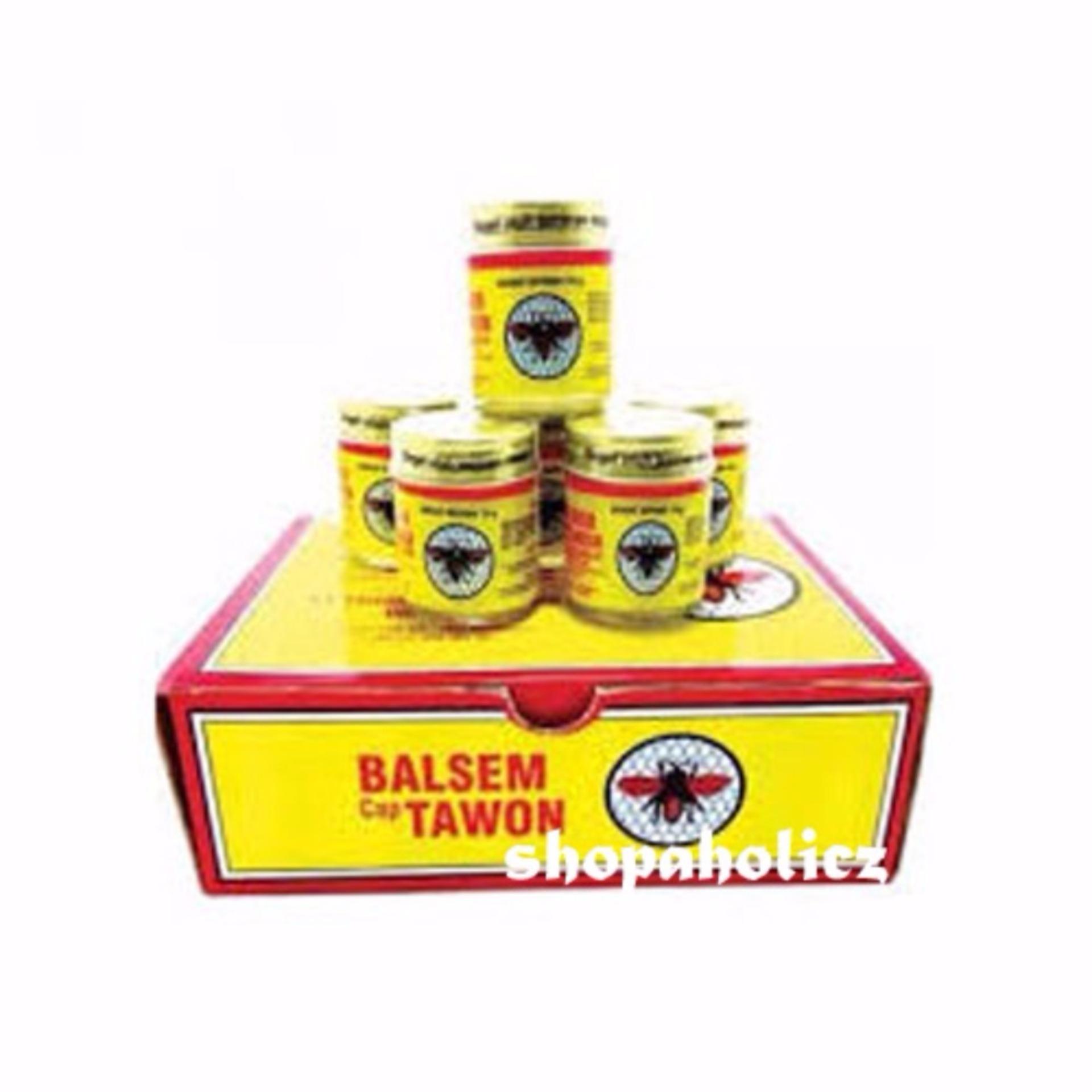 Balsem Tawon 18gr ASLI Makassar - Isi 6 Pcs