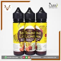 Promo Bananalicious Authentic Premium Liquid By Cmw Eliquid Ejuice Vape Indonesia