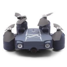 BAO NIU HC629W Foldable RC Drone RTF WiFi FPV 0.3MP Camera / Headless Mode / Air Press Altitude Hold-GREY BLUE- - intl